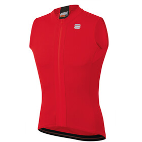 Sportful Strike Sleeveless Jersey Men, red black